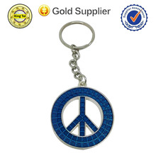 2015 fashion cheap souvenir custom metal keychain promotional