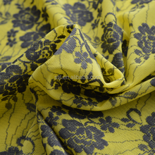 Bamboo fiber jacquard knitting fabric supplied by Chinese manufacturer wholesale