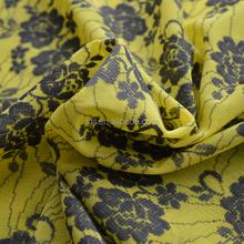 Chinese manufacturer bamboo fiber jacquard knitting fabric, jacquard fabric, jacquard knit fabric