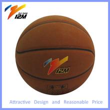 Basketballs with logo print,classic sport basketball,nature rubber bladder basketball