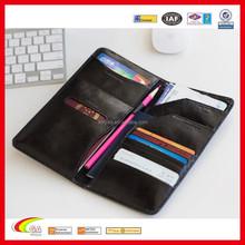 Travel Leather Passport Wallet Holder for Wholesale, Best Selling PU Leather Passport Wallet with Pen Loose