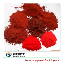 Canric chemical colour powder iron oxide red fe2o3 y101