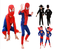 Halloween Animal Costume Spider super man costumes for kids
