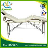 Aluminum folding table reiki massage bed solon