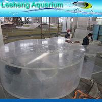 custom rectangle acrylic aquarium