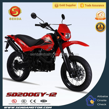 Classical 200CC 250CC dirt bike motorcycle SD200GY-12