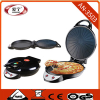 Plate Size 35CM Electric Pizza Oven With Up and Down Switch Bottom