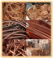 Copper Scrap of Different Shapes , Quality and Quantity