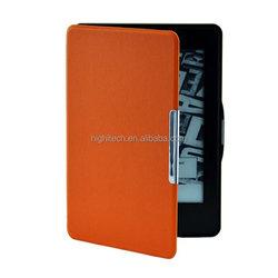For Amazon Kindle Paperwhite Magnet Closure Smart Folio PU Leather Cover Case