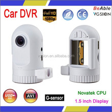 Mini FULL HD1080P CAR DVR with NOVATEK CPU,Special bullet model with cheapest price and high qualtiy