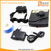 Factory price In-ground Electronic Boundary Control smart dog fence system TZ-W227 pet fence