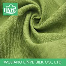 plain style woven techics linen-like fabric for drapery