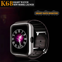 Newest Heart rate Smart Watch K68 bluetooth 4.0 wrist heart rate monitor