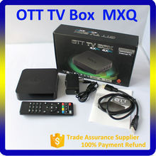 MXQ Amlogic S805 Quad core android 4.4 tv box MXQ support 4K*2K, XBMC, 1G+8G smart android 4.4 MXQ payment accept