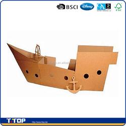 Kids Cardboard Pirate Toy