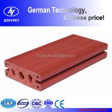 Water resistance wood plastic composite decking