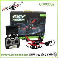 2015 wholesale sky hawkeye 5.8G HM1315S 5.8G 4CH RC Quadcopter With 0.3MP HD Camera Real-time Transmission fpv drone helicopter