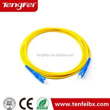 Shenzhen provide SC/APC SM Fiber Optic Patch Cord FTTH pactch cord