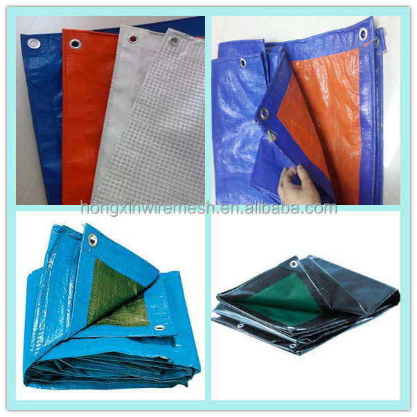 colorful PE tarpaulin