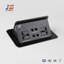 JS-553+ Table Top Electrical Outlet Socket with RJ45