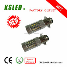 2015 new products OSRAM led auto light h6 3w fog light led H2 H3 H4 H6 H7 H8 H9 H10 H11 H15 H16 9004 9-30V IP67 CE and ROHS