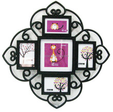 Black wall photos hanging decorative picture photo frames