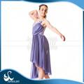 Vestido del Ballet proveedor Anna Shi estratificado realizar adultos Ballet largo tutú del traje