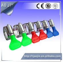 American type turn key hose clamp