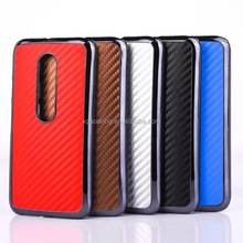 Fiber carbon cover case for Moto G3, for Moto G3 mobile phone case