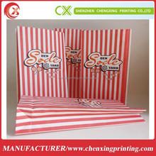 Custom Logo Printed Paper Bags for Food Factory Wholesale
