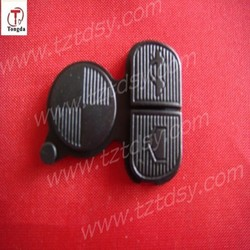 TD auto remote key 3 rubber /button for BW