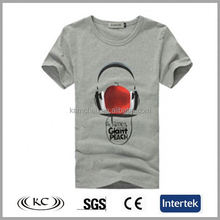 low price italy 100% cotton woman gray promotion compression t-shirt