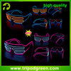 Hot selling so fashion Shutter el wire glasses without lens