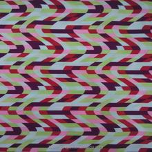 strips printed nylon spandex fabric design children swim suit