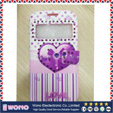 New design flip case cover for samsung galaxy note3 neo