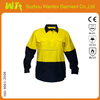 long sleeve ansi class 2 safety t-shirt meets EN471