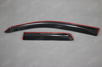 Indian Car accessories 2 doors injection windows visor for toyota hilux pick-up 4x4 vigo 2008~2012,hot sale window visor accesso