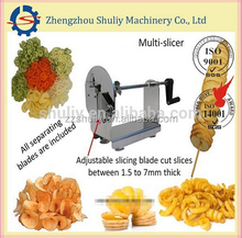2015 hot selling factory price good quality tornado chips maker potato tower machine potato spiral machine