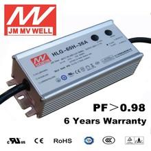 60W waterpoof IP67 1-10Vdc power suppli 36V with UL EMC TUV ROHS