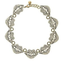 2015 new full diamond pearl necklace female lips necklace