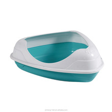 Large Plastic Pans Cat Toilet Plastic Cat Litter Pan