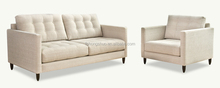 New country style fabric sofa designs, modern living room furniture 233#