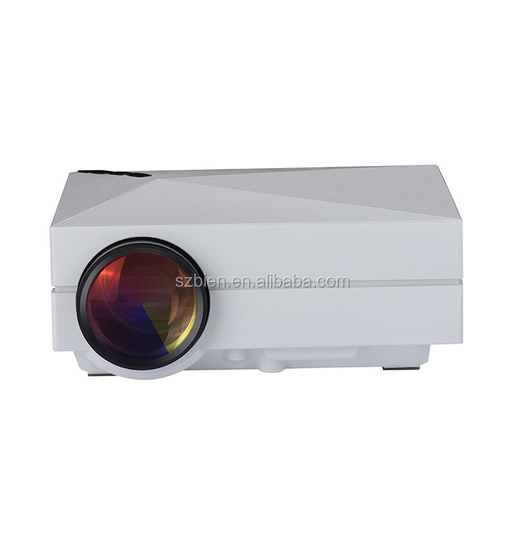 High brightness 800 lumens mini projector home theater led for Highest lumen pocket projector