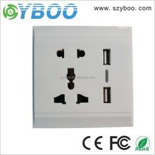 Dual USB Wall Charging Station Wall Socket Adapter USB port Power Outlet USB wall socket