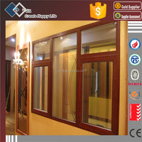 Double Glazing Aluminium Casement Window Combined Fixed Window Design