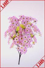5 branch sakura bush flower artificial bush flower
