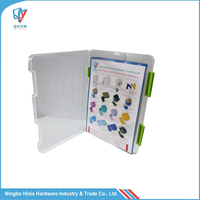 Plastic Clear File Folder Carrying Case