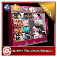 European style acrylic cosmetics display stand