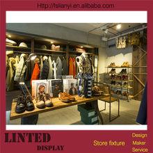 Fashionable retail clothing store furniture