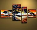 venta al por mayor hecho a mano de pintura al óleo sobre lienzo de china